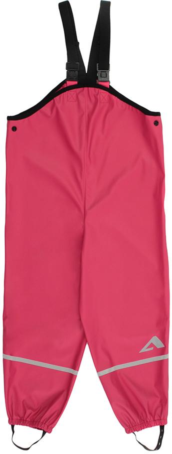 Полукомбинезон для девочки Oldos Active Прага, цвет: розовый. 3AR8PT02. Размер 92, 2 года3AR8PT02Полукомбинезон из коллекции OLDOS ACTIVE для смелых прогулок по лужам весной, осенью и даже зимой в оттепель. Внешняя ткань 100% полиэстер на трикотажной основе, полиуретановое покрытие без ПВХ. Материал мягкий, водонепроницаемый и грязеотталкивающий, не деревенеет на морозе. Швы запаяны. Эластичные лямки отстегиваются спереди и легко регулируются по длине. Обхват талии регулируется кнопками. Низ брючин плотно фиксируется на обуви благодаря резинкам и штрипкам, которые можно отстегнуть при необходимости. Светоотражающие элементы.