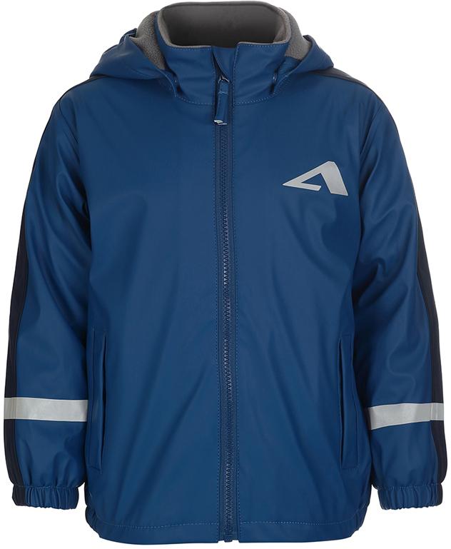 Дождевик для мальчика Oldos Active Бостон, цвет: синий, темно-синий. 3AR8JK01. Размер 128, 8 лет джинсы детские oldos брандо цвет темно синий 6o8jn01 размер 128 8 лет