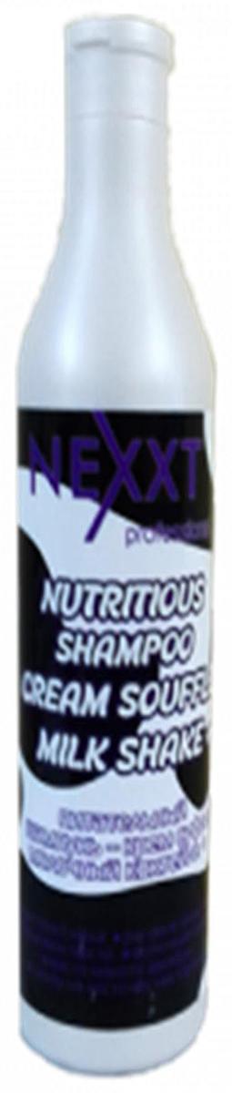 Nexxt Professional Питательный шампунь–крем суфле молочный коктейль, 500 млCL211455Щадящий питательный шампунь, в основу которого положены органические натуральные биологически активные компоненты, предназначен для волос испытывающих частые химические процедуры - окрашивание, мелирование, хим. завивку, а также тепловую обработку феном, плойками, или естественными солнечными лучами, в результате чего они могут быть сухими и ломкими. Оригинальная формула шампуня, включающая в себя молочную сыворотку, рисовое молочко и экстракт меда – мощный источник энергии и эластичной силы. Насыщенная органическими аминокислотами, витаминами, белками, ферментами, натуральным кератином и коллагеном, полисахаридами и минеральными веществами магкая масса шампуня благотворно влияет на здоровье волоса, его блеск и природную шелковистость. Питательные свойства молочной сыворотки и масел в составе являются профилактикой повреждения волосяных луковиц, восполняют недостаток аминокислот, делая волосы эластичными и упругими по всей длине. Кожа головы получает необходимое для обновления клеток усиление кровообращения, блокирование негативных экологических и от перепада температур воздействий внешней среды, подавляется избыточная деятельность сальных желез, смягчаются последствия стрессовых ситуаций на здоровье волос. Шампунь способствует ускорению обменных процессов в коже головы – anti age эффект, а волосы насыщаются не достающимися органическими элементами, получая оптимальное увлажнение, питание и защиту. Эффект шампуня усиливается в комплексном применении с маской и кондиционером organic line.