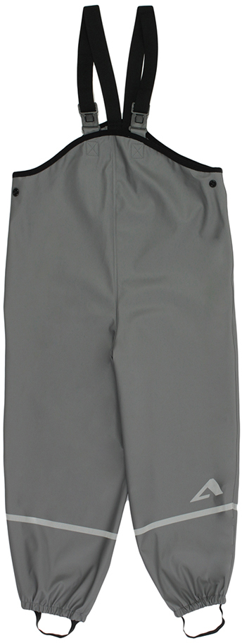 Полукомбинезон для мальчика Oldos Active Бостон, цвет: серый. 3AR8PT01. Размер 110, 5 лет3AR8PT01Полукомбинезон из коллекции OLDOS ACTIVE для смелых прогулок по лужам весной, осенью и даже зимой в оттепель. Внешняя ткань 100% полиэстер на трикотажной основе, полиуретановое покрытие без ПВХ. Материал мягкий, водонепроницаемый и грязеотталкивающий, не деревенеет на морозе. Швы запаяны. Эластичные лямки отстегиваются спереди и легко регулируются по длине. Обхват талии регулируется кнопками. Низ брючин плотно фиксируется на обуви благодаря резинкам и штрипкам, которые можно отстегнуть при необходимости. Светоотражающие элементы.