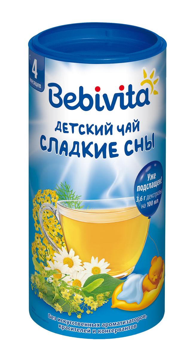 Bebivita Сладкие сны чай гранулированный, с 4 месяцев, 200 г bebivita 200