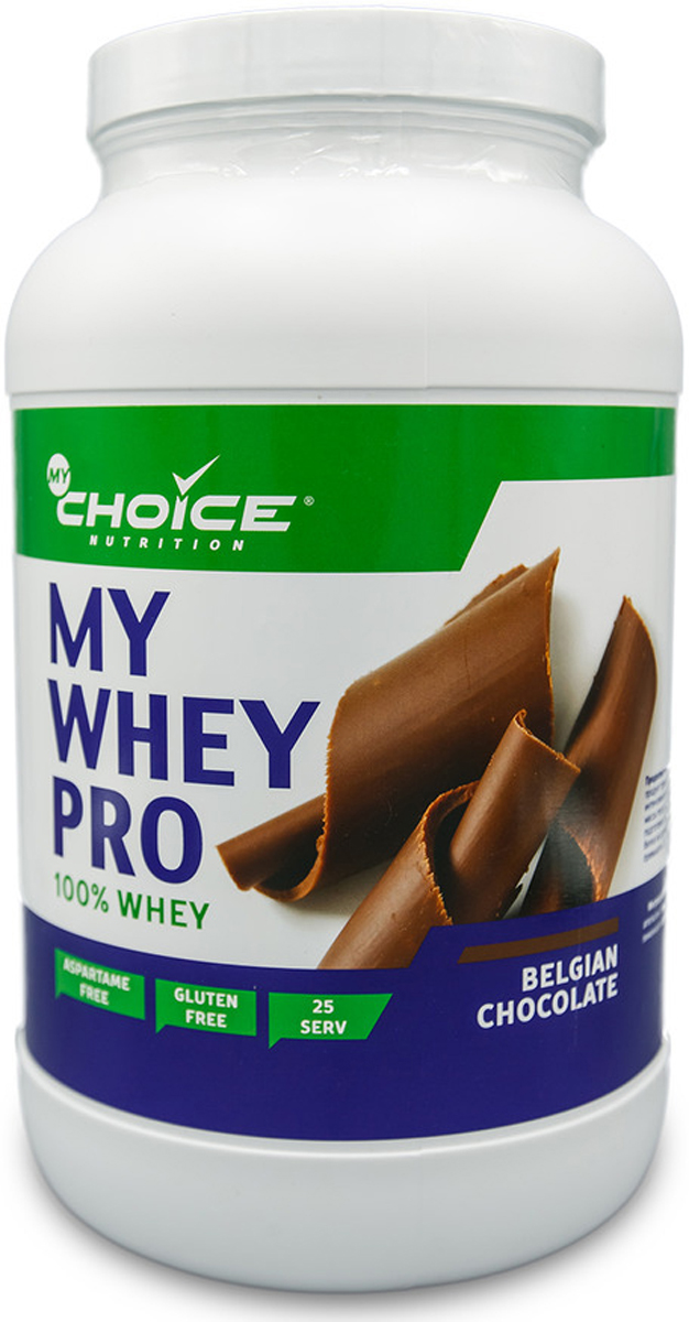 Сывороточный протеин MyChoice Nutrition My Whey Pro, шоколад, 825 г whey isolate