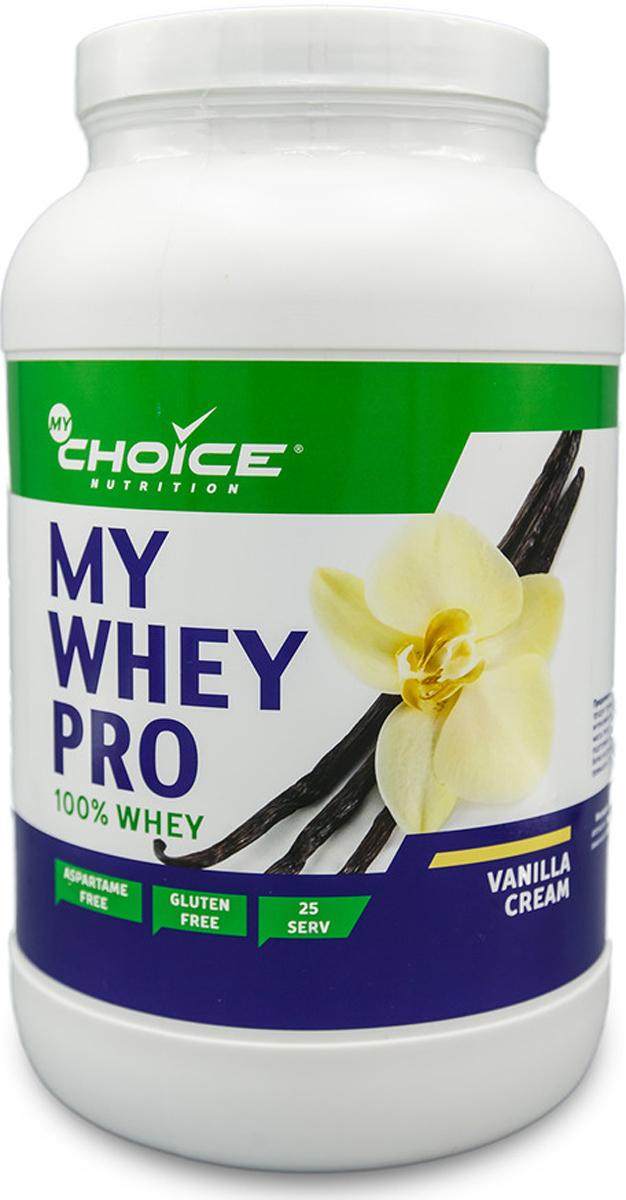 Сывороточный протеин MyChoice Nutrition My Whey Pro, ваниль, 825 г витамины mychoice nutrition vitamin c апельсин 60 шт