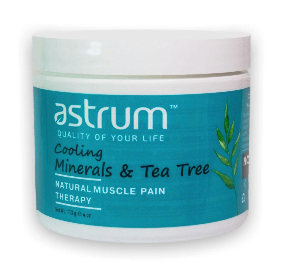 Astrum Минеральный гель с маслом чайного дерева, 113 гAS03002Главное достоинство геля – быстрое местное болеутоляющее и противовоспалительное действие. Обладает антисептическим, антибактериальным и противоотечным действием. Легкий охлаждающий эффект при нанесении помогает при ушибах, мышечном напряжении, болях в мышцах и суставах. Масла авокадо, примулы вечерней и лесного ореха смягчают и питают кожу.