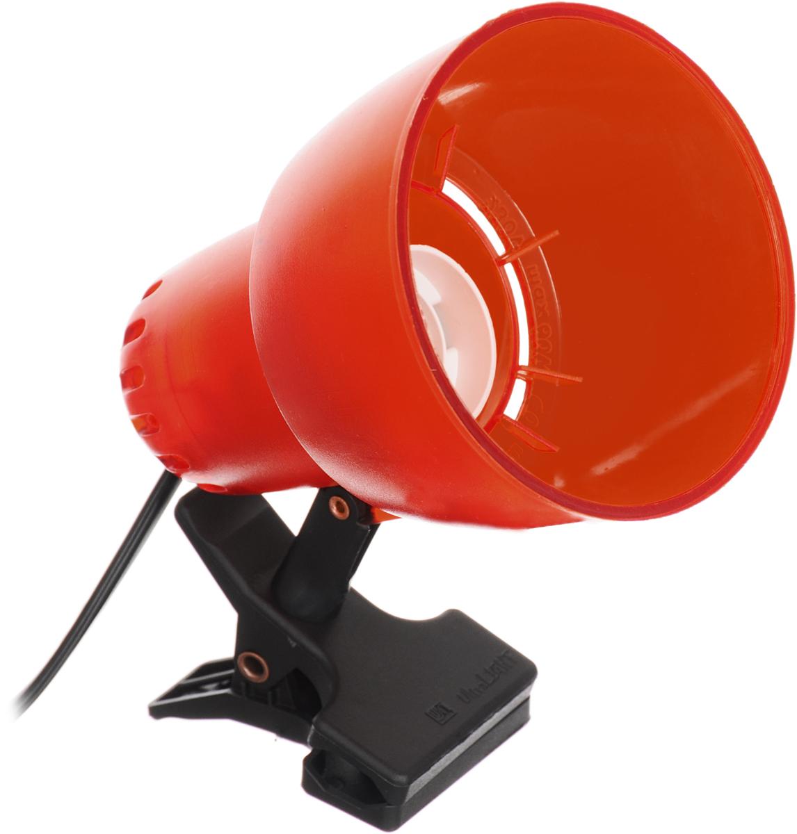 Настольный светильник Ультра ЛАЙТ, цвет: прозрачный, красныйKT034B_прозрачный, красный;KT034B_прозрачный, красныйНастольный светильник Ультра ЛАЙТ, цвет: прозрачный, красный