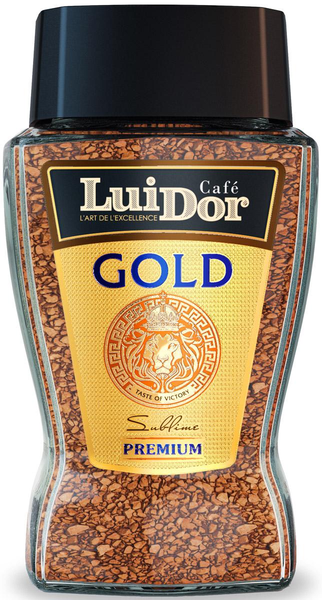 Luidor GoldКофе растворимый сублимированный, 95 г Luidor