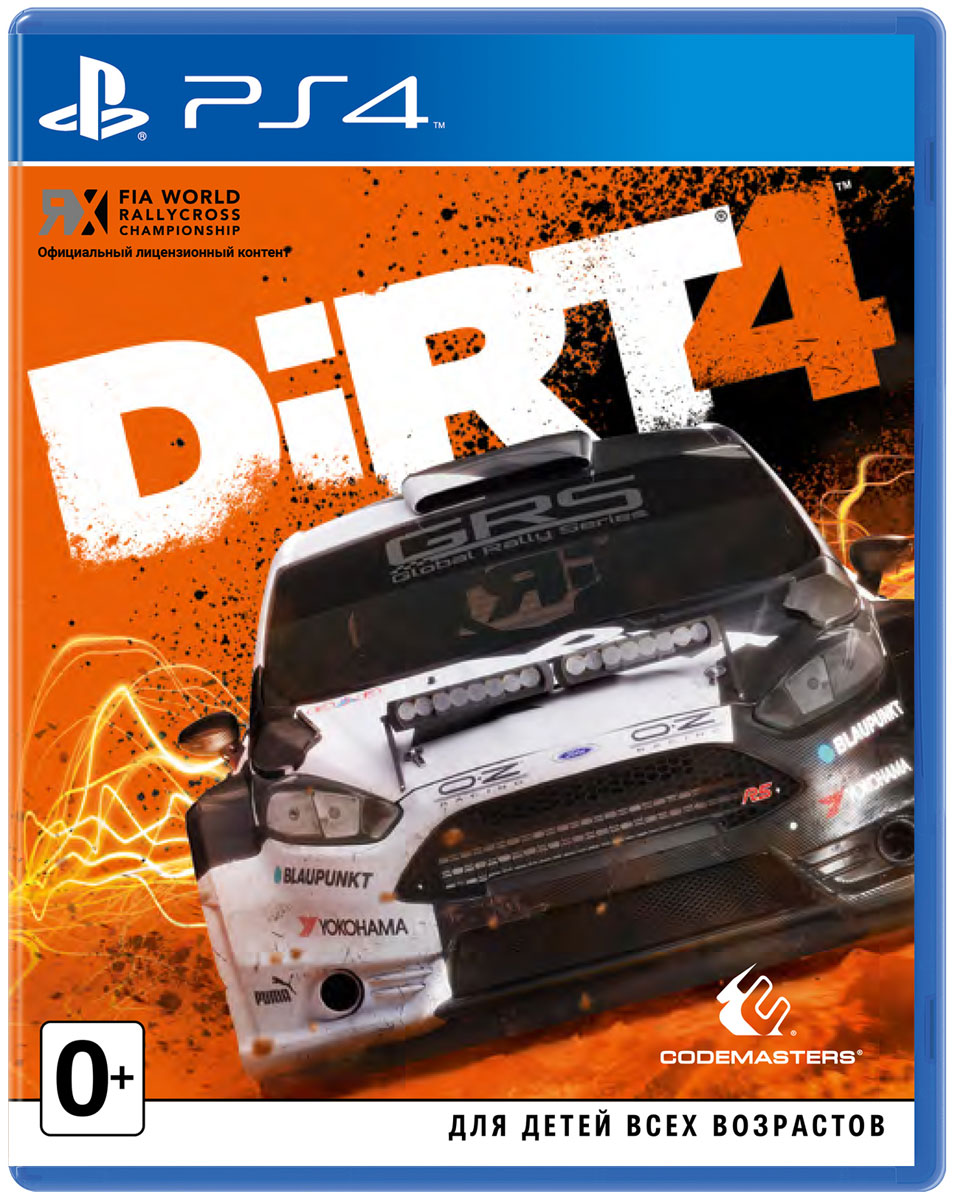 Zakazat.ru Dirt 4 (PS4)