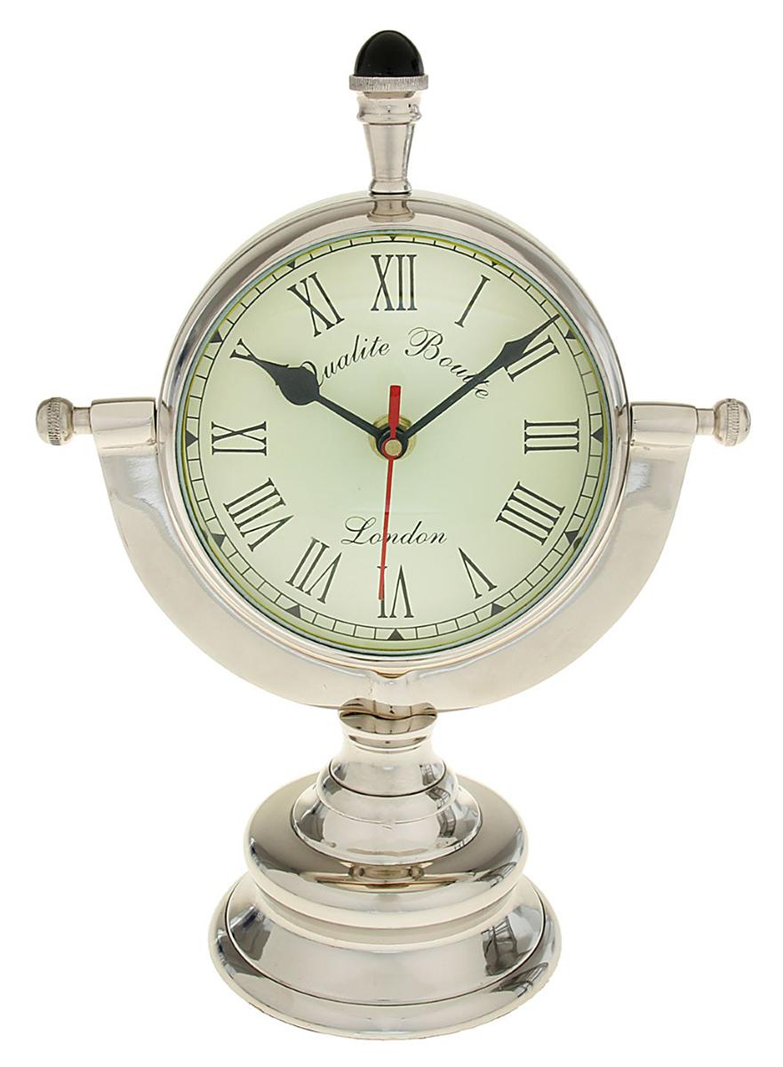Часы настольные Сэр, 33 х 22 х 12,8 см. 10441021044102Тот, у кого на счету каждая минута, оценит эти индийские Часы настольные Сэр по достоинству Они аккуратно смотрятся на письменном столе, прикроватной тумбочке или же в каминном зале. Кроме того, в переговорной или конференц-зале часы будут указывать на статус своего обладателя. Пусть при взгляде на них у Ваших партнёров по бизнесу и сослуживцев в голове всплывает фраза «Время — деньги».