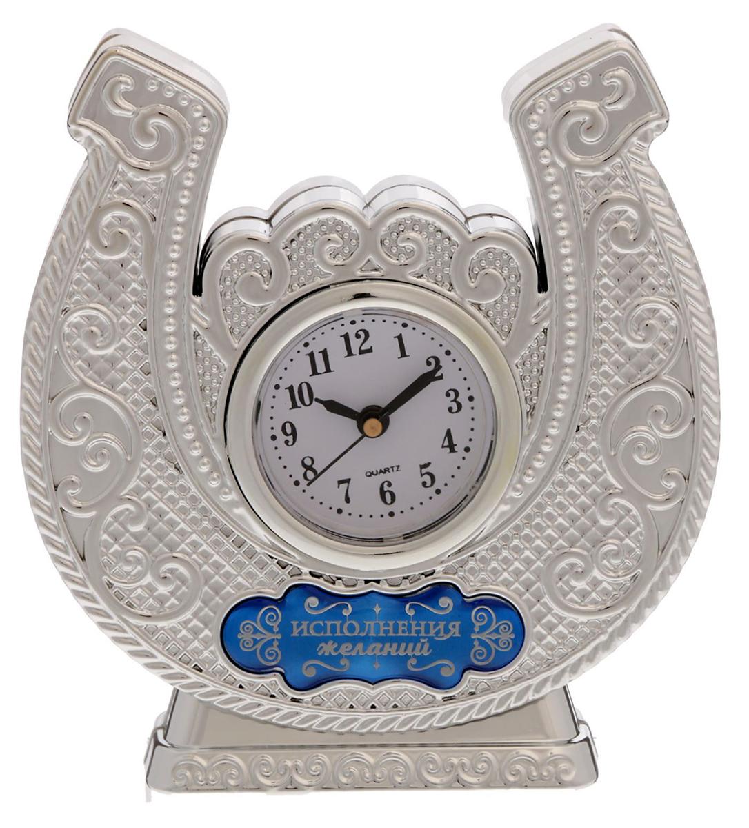 Часы настольные Исполнения желаний, 11,6 х 12,2 см. 1692912 парфюмерная вода cartier cartier baiser vole парфюмированная вода 50 мл спрей