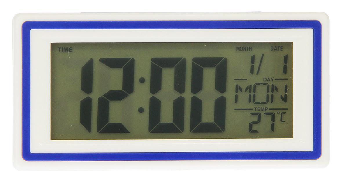 Часы-будильник Прямоугольник, 10 х 5,5 см. 25905012590501Каждому хозяину периодически приходит мысль обновить свою квартиру, сделать ремонт, перестановку или кардинально поменять внешний вид каждой комнаты. — привлекательная деталь, которая поможет воплотить вашу интерьерную идею, создать неповторимую атмосферу в вашем доме. Окружите себя приятными мелочами, пусть они радуют глаз и дарят гармонию.