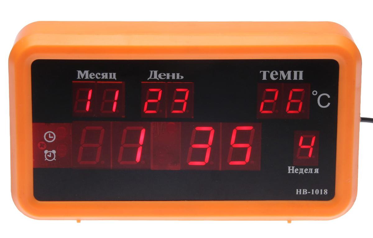 Часы-будильник Классика, цвет: оранжевый 18 х 10 см. 27411722741172Каждому хозяину периодически приходит мысль обновить свою квартиру, сделать ремонт, перестановку или кардинально поменять внешний вид каждой комнаты. — привлекательная деталь, которая поможет воплотить вашу интерьерную идею, создать неповторимую атмосферу в вашем доме. Окружите себя приятными мелочами, пусть они радуют глаз и дарят гармонию.