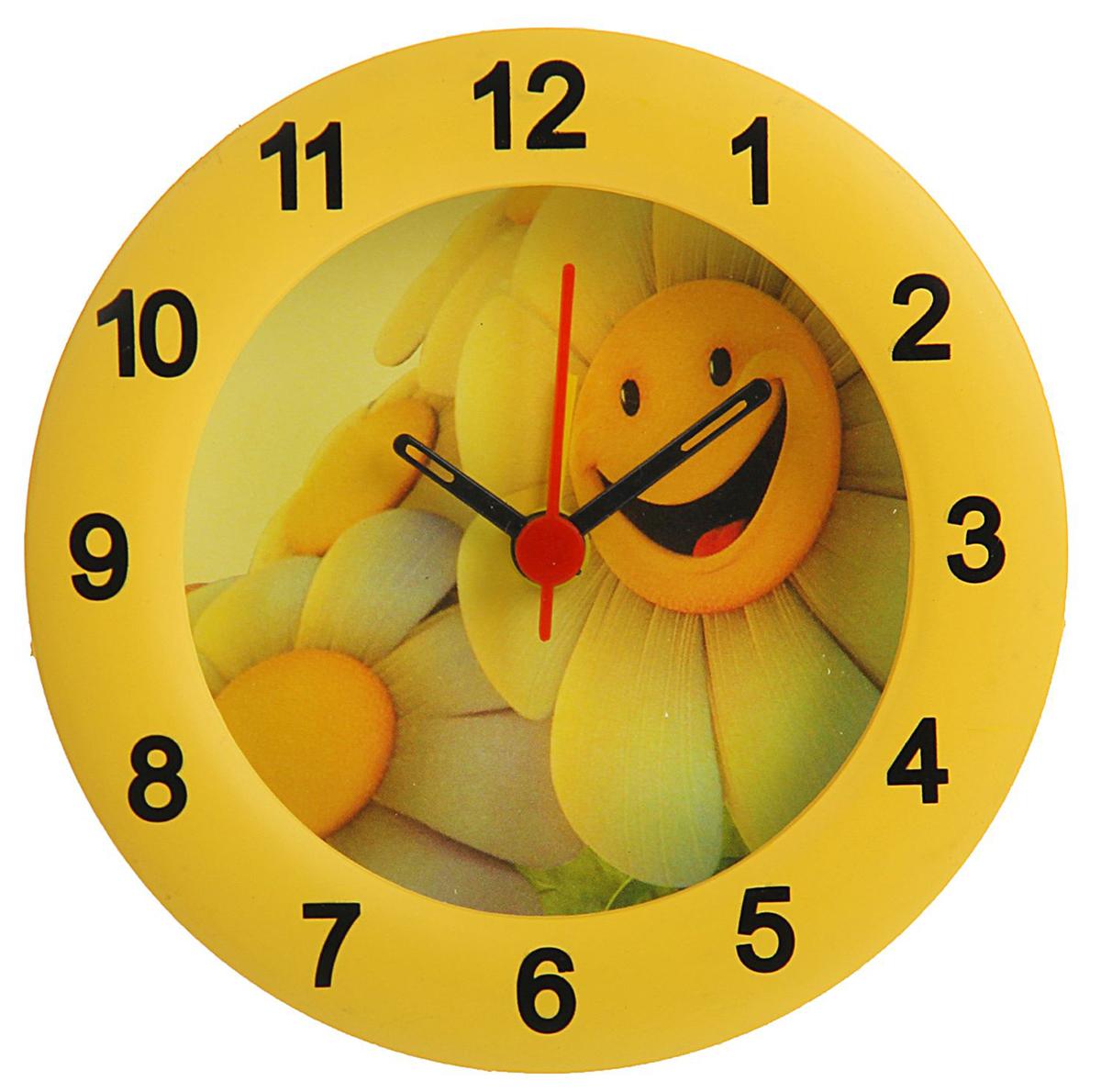Будильник Ромашка-улыбашка, диаметр 10 см. 834755834755Каждому хозяину периодически приходит мысль обновить свою квартиру, сделать ремонт,перестановку или кардинально поменять внешний вид каждой комнаты. Будильник -привлекательная деталь, которая поможет воплотить вашу интерьерную идею, создатьнеповторимую атмосферу в вашем доме.Окружите себя приятными мелочами, пусть онирадуют глаз и дарят гармонию.