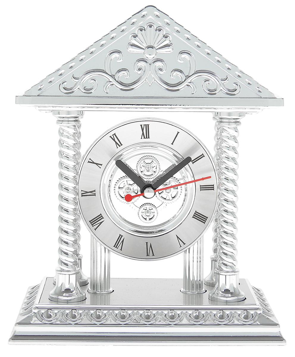 Часы настольные, 15,5 х 19 см. 839582839582Каждому хозяину периодически приходит мысль обновить свою квартиру, сделать ремонт, перестановку или кардинально поменять внешний вид каждой комнаты. Часы настольные Арка — привлекательная деталь, которая поможет воплотить вашу интерьерную идею, создать неповторимую атмосферу в вашем доме. Окружите себя приятными мелочами, пусть они радуют глаз и дарят гармонию.