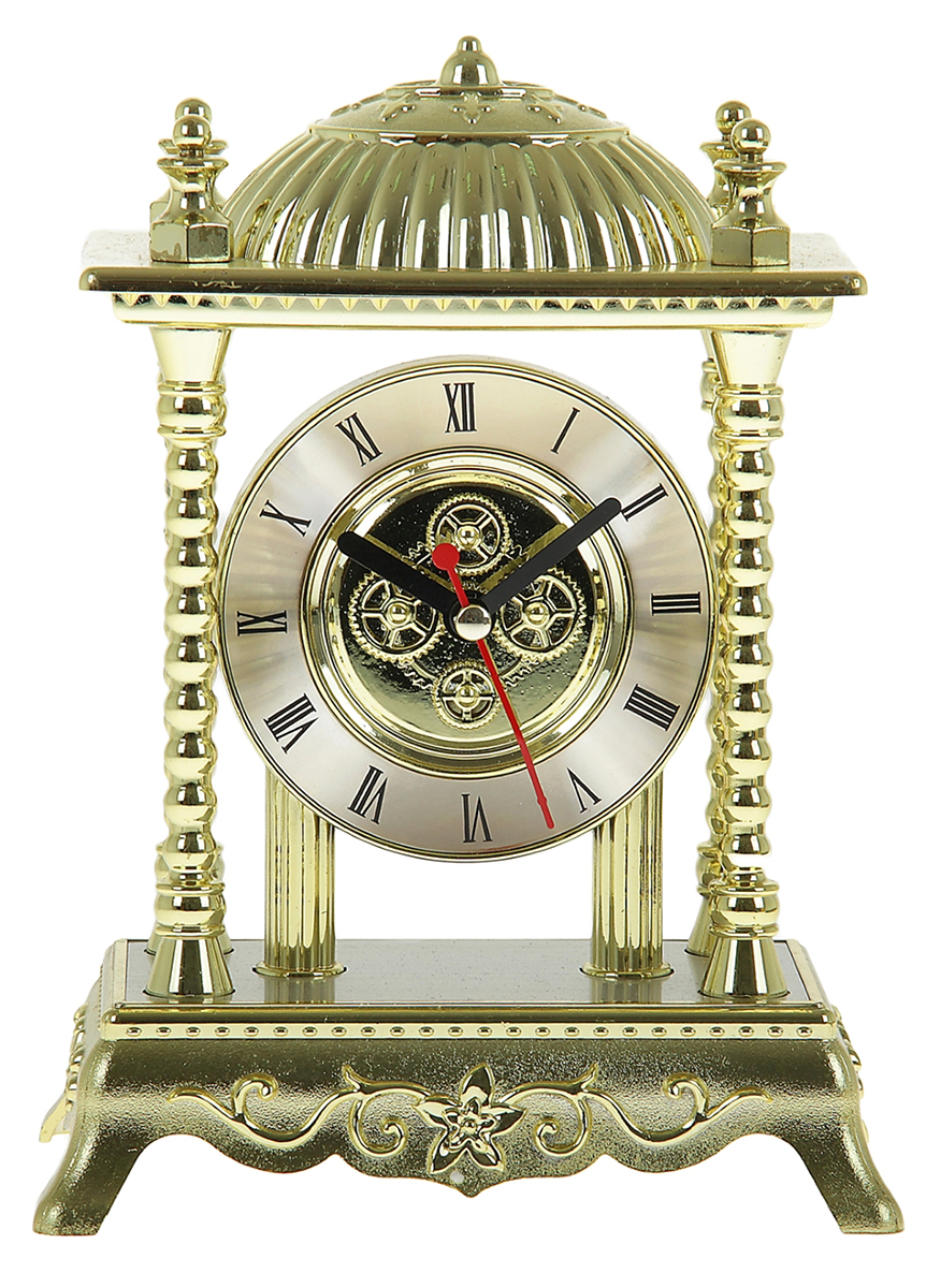 Часы настольные, 13,5 х 18 см. 839583839583Каждому хозяину периодически приходит мысль обновить свою квартиру, сделать ремонт, перестановку или кардинально поменять внешний вид каждой комнаты. Часы настольные Алтарь — привлекательная деталь, которая поможет воплотить вашу интерьерную идею, создать неповторимую атмосферу в вашем доме. Окружите себя приятными мелочами, пусть они радуют глаз и дарят гармонию.