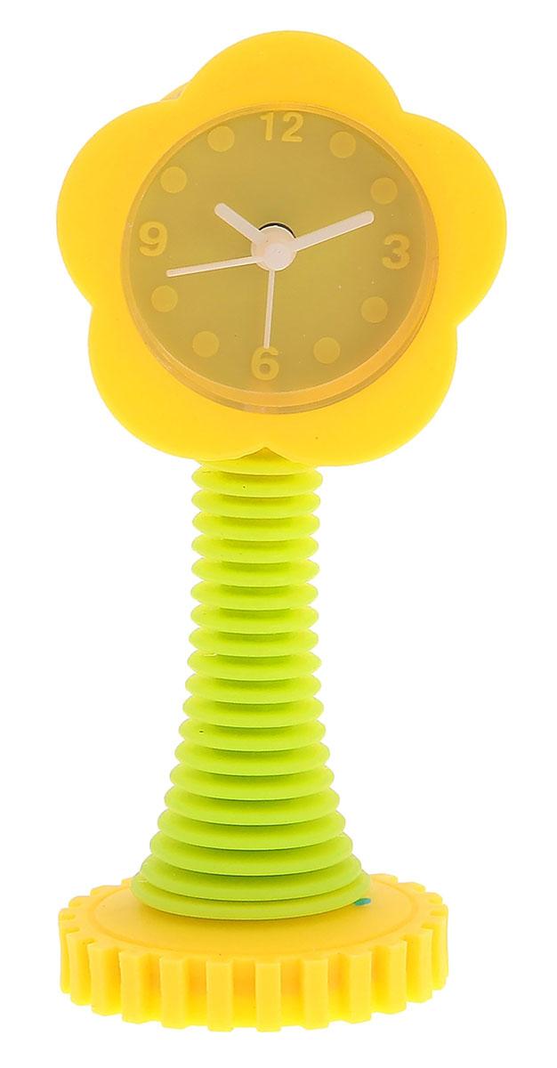 Будильник Цветок, цвет: желтый, 5 х 13 см872911Каждому хозяину периодически приходит мысль обновить свою квартиру, сделать ремонт,перестановку или кардинально поменять внешний вид каждой комнаты. Будильник -привлекательная деталь, которая поможет воплотить вашу интерьерную идею, создатьнеповторимую атмосферу в вашем доме.Окружите себя приятными мелочами, пусть онирадуют глаз и дарят гармонию.