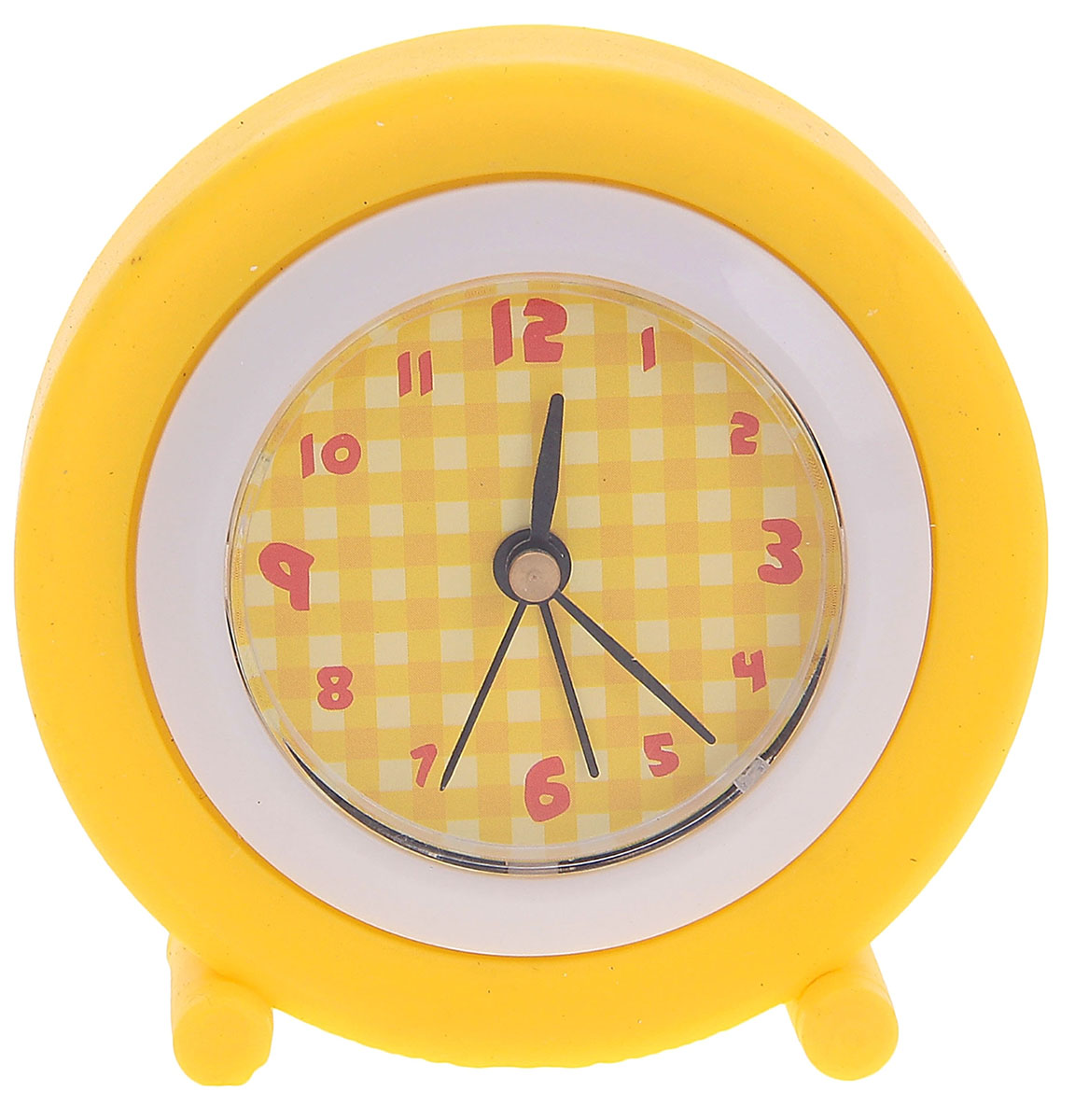 Будильник, цвет: желтый, диаметр 8 см. 872918872918Каждому хозяину периодически приходит мысль обновить свою квартиру, сделать ремонт,перестановку или кардинально поменять внешний вид каждой комнаты. Будильник -привлекательная деталь, которая поможет воплотить вашу интерьерную идею, создатьнеповторимую атмосферу в вашем доме.Окружите себя приятными мелочами, пусть онирадуют глаз и дарят гармонию.