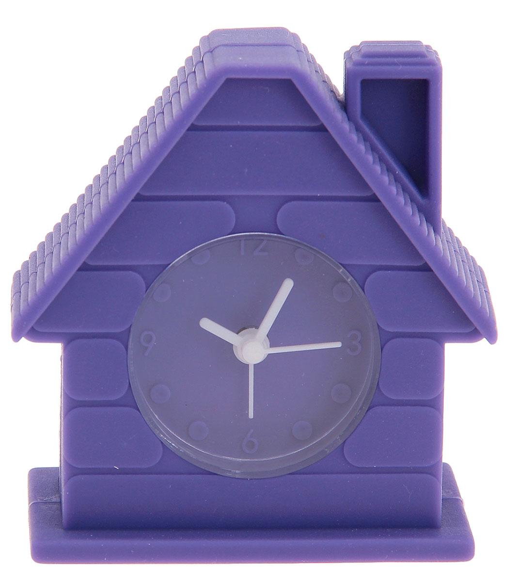 Будильник Дом, цвет: фиолетовый, 4 х 8 см872920Каждому хозяину периодически приходит мысль обновить свою квартиру, сделать ремонт,перестановку или кардинально поменять внешний вид каждой комнаты. Будильник -привлекательная деталь, которая поможет воплотить вашу интерьерную идею, создатьнеповторимую атмосферу в вашем доме.Окружите себя приятными мелочами, пусть онирадуют глаз и дарят гармонию.