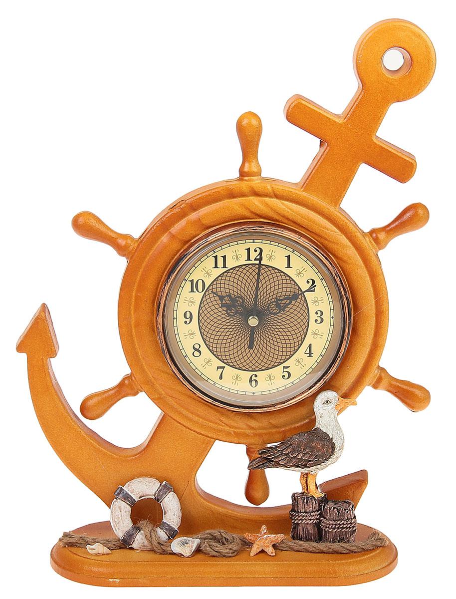 Часы настольные Море. Якорь с чайкой, 24 х 32 см. 958318 хочу продать свою квартиру которая менее 3х лет и другую какие налоги надо заплатить