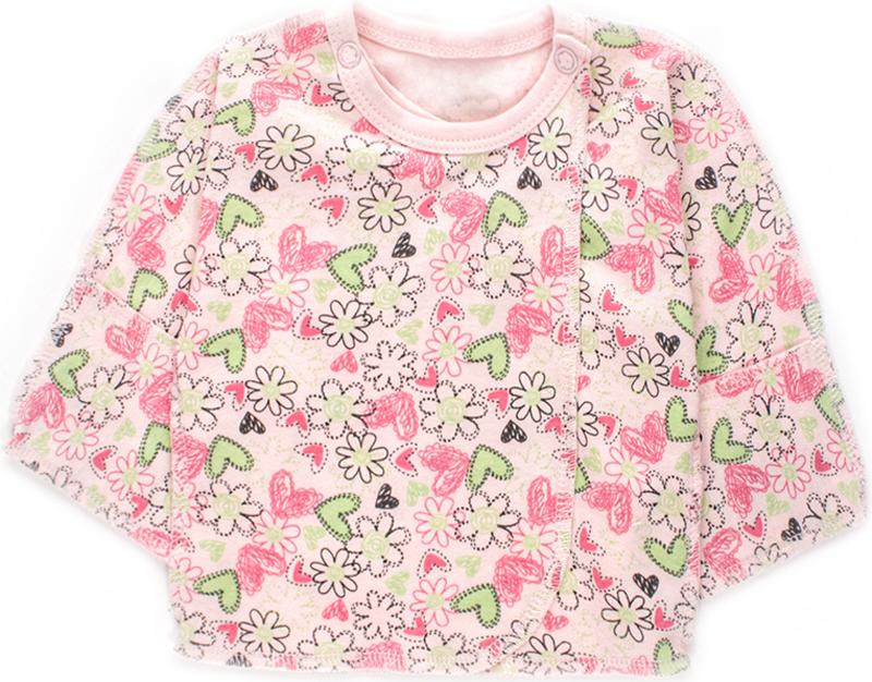 Распашонка детская Unique, цвет: розовый. U006305. Размер 62U006305