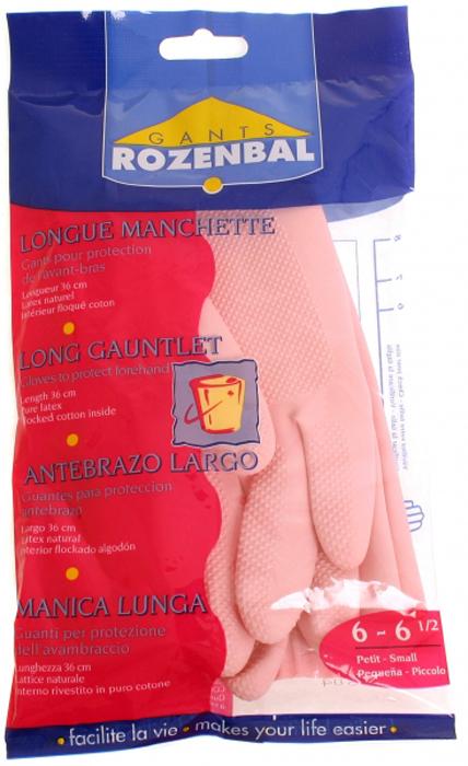 Перчатки хозяйственные Rozenbal, малые, длинные. R105536