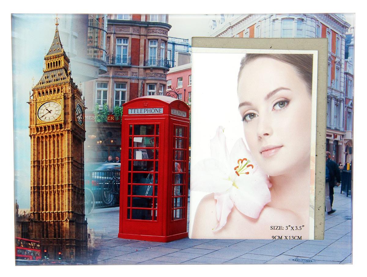 Фоторамка Лондон, 9 х 13 см. 10293021029302Фоторамка Лондон сохранит самые прекрасные моменты вашей жизни.Характеристики: Материал: стекло Размер: 9 х 13 см.