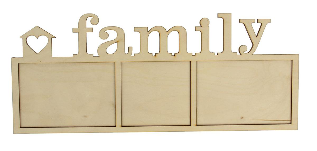 Фоторамка FAMILY на 3 рамки ФР-011 . 11200011120001Каждому хозяину периодически приходит мысль обновить свою квартиру, сделать ремонт, перестановку или кардинально поменять внешний вид каждой комнаты. Фоторамка FAMILY на 3 фото, 10x15 см, 10x10,5 см — привлекательная деталь, которая поможет воплотить вашу интерьерную идею, создать неповторимую атмосферу в вашем доме. Окружите себя приятными мелочами, пусть они радуют глаз и дарят гармонию. Хотите создать своё небольшое генеалогическое древо, но не знаете как? Начните с такой прекрасной фоторамки в виде коллажа! Она не только украсит ваш интерьер, объединит дорогие сердцу события в одну замечательную композицию, но и заложит фундамент для создания семейного дерева. Такая необычная фоторамка станет чудесным подарком по случаю праздника.