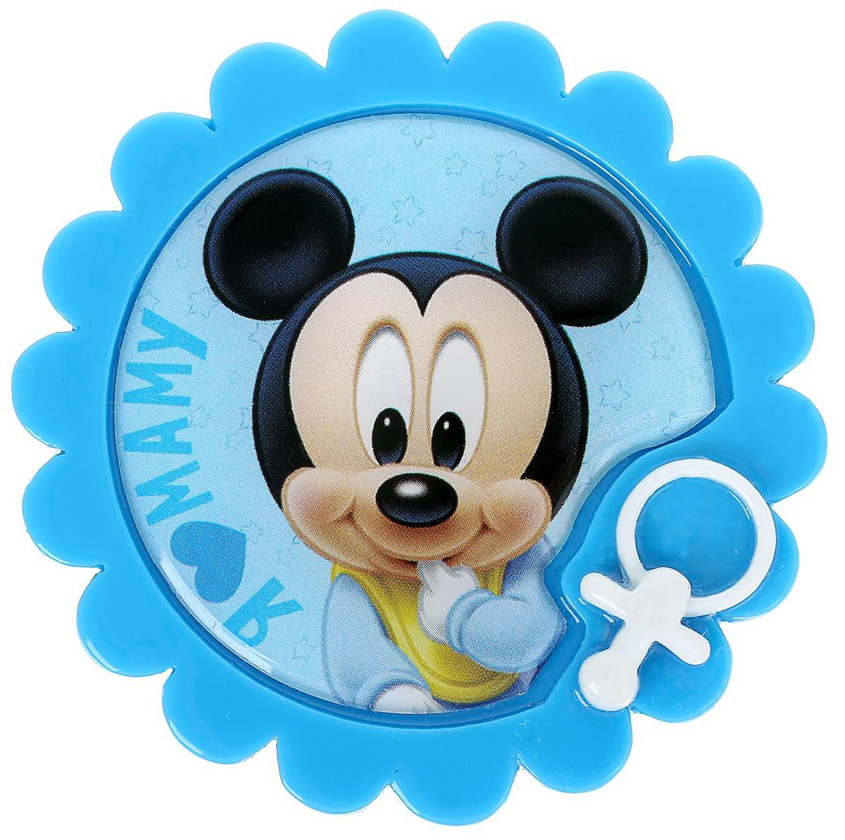 Магнит-рамка Disney Я люблю маму. Малыш Микки, 5,9 х 6 см. 12568541256854Дарите радость с Disney Удивите малышей уникальным сувениром с любимым персонажем! Он порадует ребёнка стильным дизайном и ярким исполнением. Красочный акриловый магнит будет долгие годы украшать холодильник или другую металлическую поверхность. Изделие дополнено оригинальной открыткой, где можно написать тёплые слова и сделать маленький подарок более личным. Соберите коллекцию аксессуаров с любимыми героями!