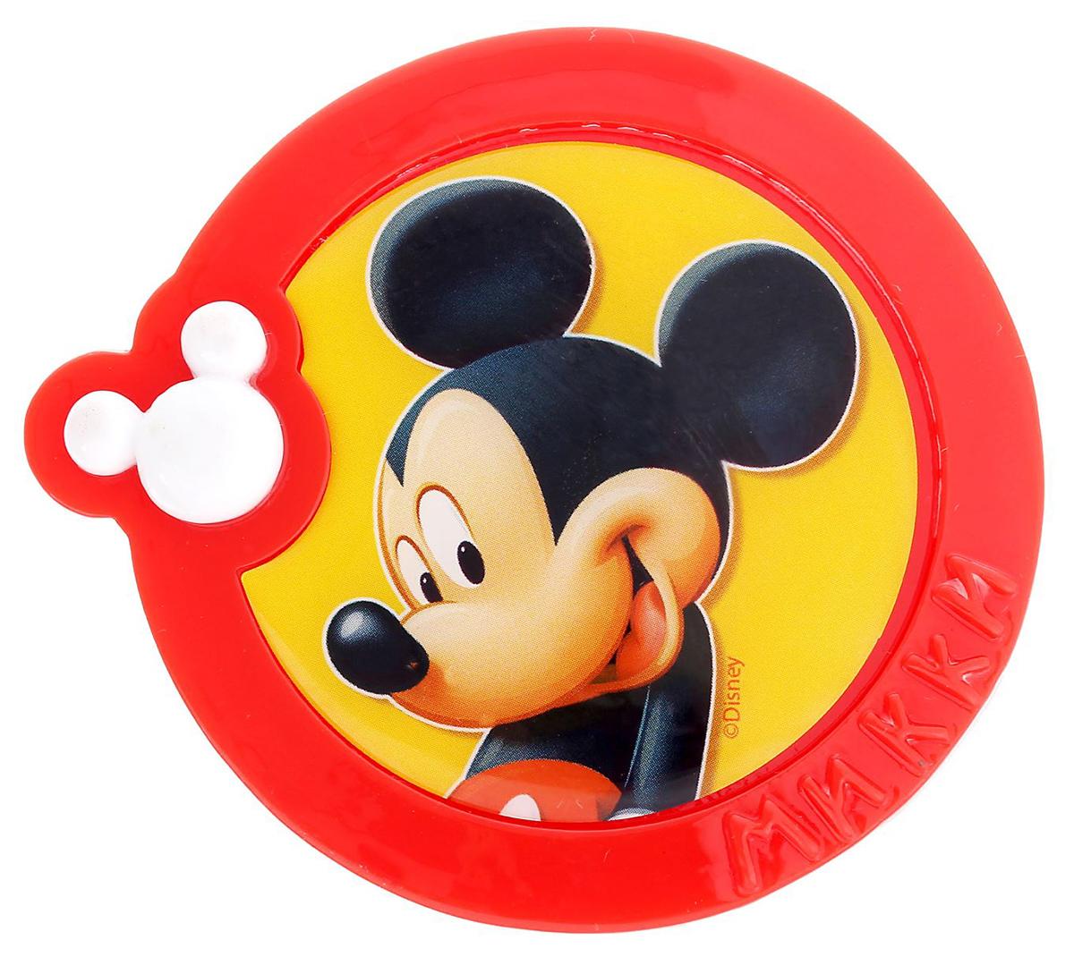 Магнит-рамка Disney Микки Маус, 6,2 х 6,1 см. 12568561256856Дарите радость с Disney Удивите малышей уникальным сувениром с любимым персонажем! Он порадует ребёнка стильным дизайном и ярким исполнением. Красочный акриловый магнит будет долгие годы украшать холодильник или другую металлическую поверхность. Изделие дополнено оригинальной открыткой, где можно написать тёплые слова и сделать маленький подарок более личным. Соберите коллекцию аксессуаров с любимыми героями!
