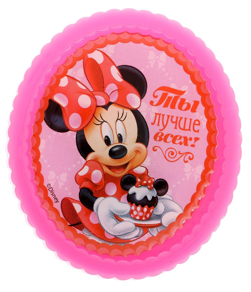 Магнит-рамка Disney Минни Маус. Ты лучше всех!, 6,1 х 5,2 см. 12568691256869Дарите радость с Disney!Удивите малышей уникальным сувениром с любимым персонажем! Он порадует ребёнка стильным дизайном и ярким исполнением. Красочный акриловый магнит будет долгие годы украшать холодильник или другую металлическую поверхность.Изделие дополнено оригинальной открыткой, где можно написать тёплые слова и сделать маленький подарок более личным.Соберите коллекцию аксессуаров с любимыми героями!