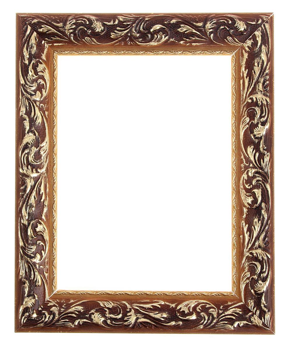 Рама для зеркал и картин 18х24х4 см, цвет: золотой. 12971081297108Если ваша фотография или картина срочно требует достойного обрамления, то остановите свой выбор на готовой раме из настоящего багета. Её особенности: материал — сосна; стекло отсутствует; толщина — 2 см; ширина багета — 4,5 см; крепление к стене в комплекте; задник отсутствует; размер паза (для вставки фото, стекла или холста) — 0,5 см.