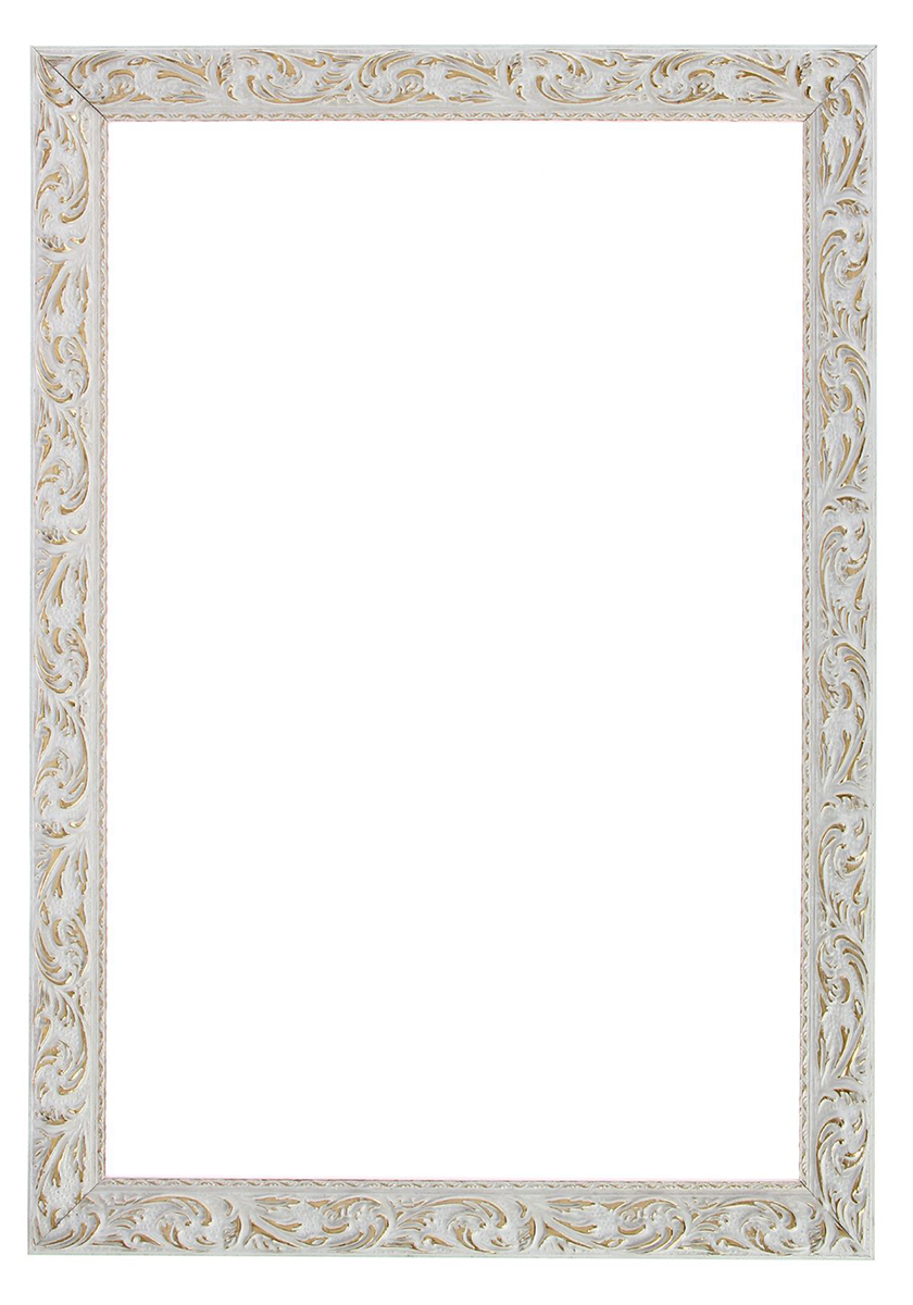 Рама для зеркал и картин 40 х 60 х 4 см, цвет: бело-золотой1386396Рама для зеркал и картин — необходимая вещь в каждом доме. Кроме того, это всегда нужный подарок, который уместен к любому празднику.Рама для зеркал и картин не только бережно сохранит любимый снимок, но и украсит интерьер, сделает его более уютным и индивидуальным. Окружайте себя мелочами, которые день ото дня будут радовать глаз и поднимать настроение.