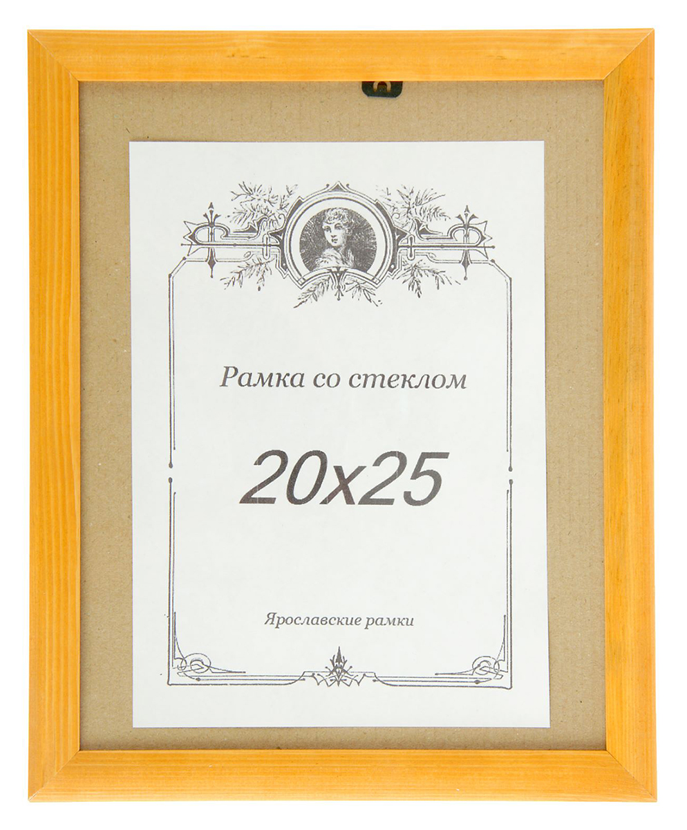 Фоторамка, 20 х 25 см, цвет: светло-коричневый. 20772077Фоторамка выполнена в классическом стиле из натурального дерева и стекла, защищающего фотографию. Обратная сторона рамки оснащена специальной ножкой, благодаря которой ее можно поставить на стол или любое другое место в доме или офисе. Также на изделие имеются два специальных отверстия для подвешивания.Такая фоторамка поможет вам оригинально и стильно дополнить интерьер помещения, а также позволит сохранить память о дорогих вам людях и интересных событиях вашей жизни.