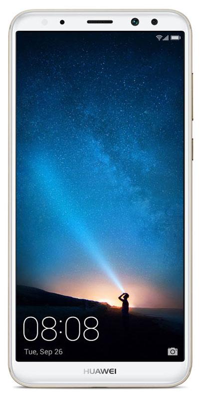 Huawei Nova 2i, Prestige Gold (LTE/RNE-L21)51091YFYСмартфон Huawei Nova 2i оснащен безрамочным экраном и имеет современный, элегантный дизайн. С диагональю 5,9 и разрешением FHD+ вы по-новому взгляните на мир фильмов, игр, интернета и социальных сетей.В новом безрамочном смартфоне соотношение размера экрана к корпусу составляет 83%, а соотношение сторон - 2:1, что дает возможность одновременно пользоваться двумя приложения на одном экране.Huawei Nova 2i совершенен во всем. Плавные линии, изящные формы, скругленные края, прочный металлический корпус, безрамочный экран - комфорт и удобство в каждой детали.Две двойные камеры Huawei Nova 2i - фронтальная и основная - открывают безграничные возможности фото- и видеосъемки. Делайте великолепные снимки, снимайте захватывающие видео, делитесь впечатлениями с друзьями!Двойная фронтальная камера Huawei Nova 2i оснащена 13 МП и 2 МП объективами. Камера 13 МП с диафрагмой f/2.0 отвечает за визуализацию изображения, цветная камера 2 МП отвечает за глубину резкости. В результате вы получаете отличные селфи высокой четкости с превосходным эффектом боке.Двойная основная камера Huawei Nova 2i с объективами 16 МП и 2 МП позволяют делать снимки с качественной визуализацией изображения и профессиональными фотоэффектами.Для получения великолепного эффекта боке и красочных портретных снимков в двойной фронтальной камере Huawei Nova 2i используется комбинация инновационных объективов и передовой технологии съемки. Просто коснитесь экрана, чтобы настроить фокус и применить размытие фона.Забудьте о плохом освещении! Вспышка на фронтальной камере Huawei Nova 2i с эффектами тонирования и двумя уровнями яркости автоматически подстраивается под окружающее освещение. С высоким коэффициентом цветопередачи она имитирует солнечный свет, позволяя передавать естественные оттенки на фото. Угол освещения в 120 градусов обеспечивает более широкое световое покрытие.8-ядерный процессор Kirin 659 с тактовой частотой 2,36 ГГц и технологией 16 нм, оперативна