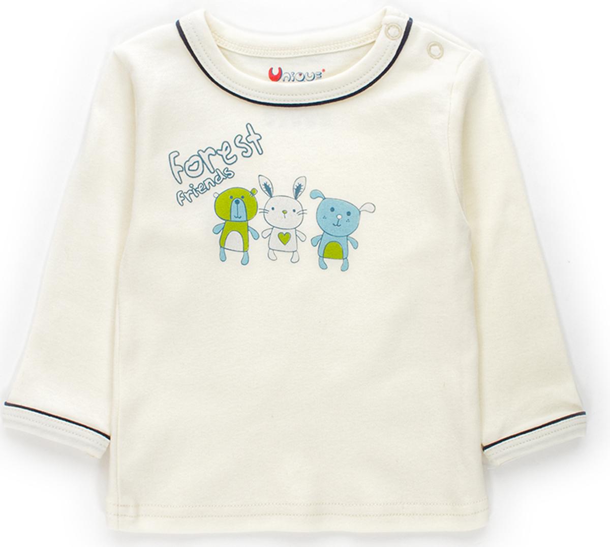 Кофта детская Unique, цвет: молочный. U115417. Размер 68U115417