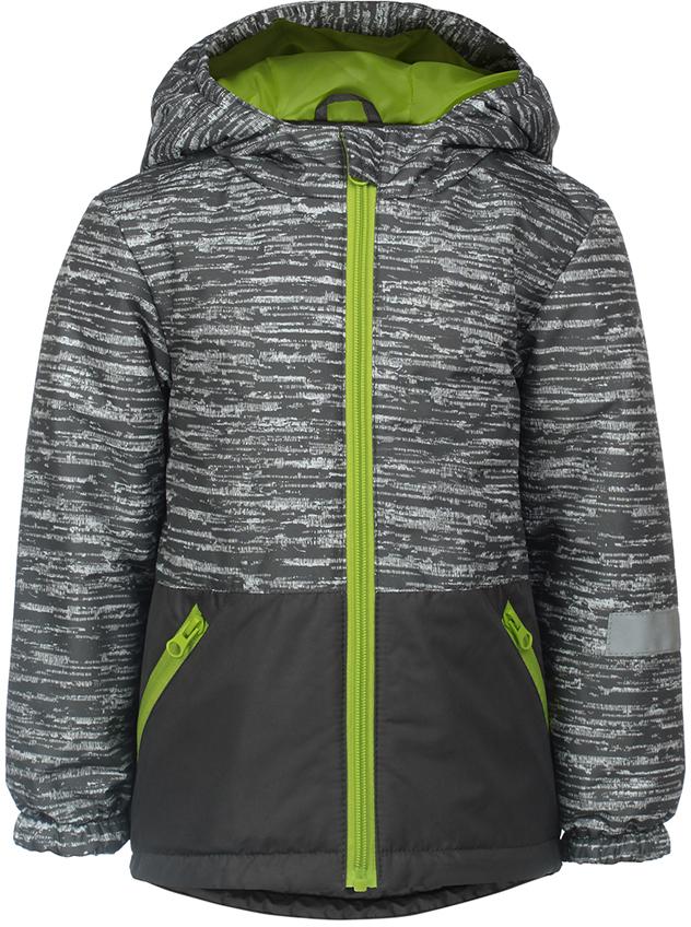 Куртка для мальчика Jicco By Oldos Чип, цвет: серый. 2J8JK05. Размер 98, 3 года2J8JK05Легкая и удобная весенняя куртка от Jicco By Oldos. Внешняя ткань с водо-грязеотталкивающей пропиткой защищает от ветра и дождя. Утеплитель вкуртке синтепон 100 г/м2. Куртка имеет все самое необходимое длякомфортной носки: капюшон с внутренней резинкой по краям для лучшегоприлегания, внутреннюю ветрозащитную планку по всей длине молнии сзащитой подбородка от защемления, манжеты на резинке, карманы намолнии, регулируемую утяжку по низу куртки. Светоотражающие элементы.