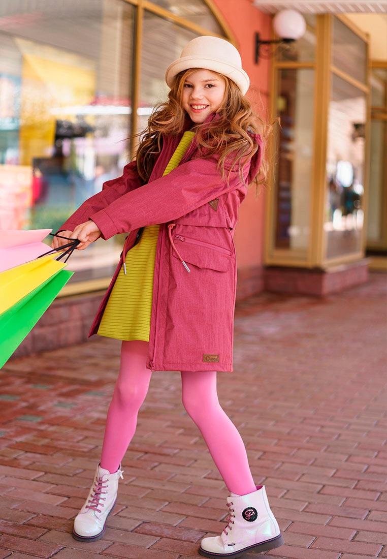 Куртка для девочки Oldos Амалия, цвет: малиновый. 3O8JK06. Размер 134, 9 лет3O8JK06Куртка от OLDOS станет украшением весеннего гардероба. Внешняя ткань с водо-грязеотталкивающей пропиткой защищает от ветра и дождя. Подкладка из бязи - 65% полиэстер, 35% хлопок. Съемный капюшон, внутренняя резинка по краям для лучшего прилегания, регулируемая утяжка по талии на х/б шнурке, манжеты на кнопке. Модель дополнена двумя врезными карманами на молнии с клапанами, двумя врезными карманами на молнии и светоотражающими элементами.