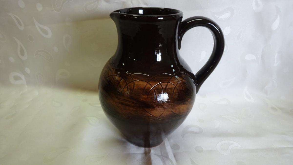 Кувшин Борисовская керамика Старина, 2 л глиняный сюнь fung