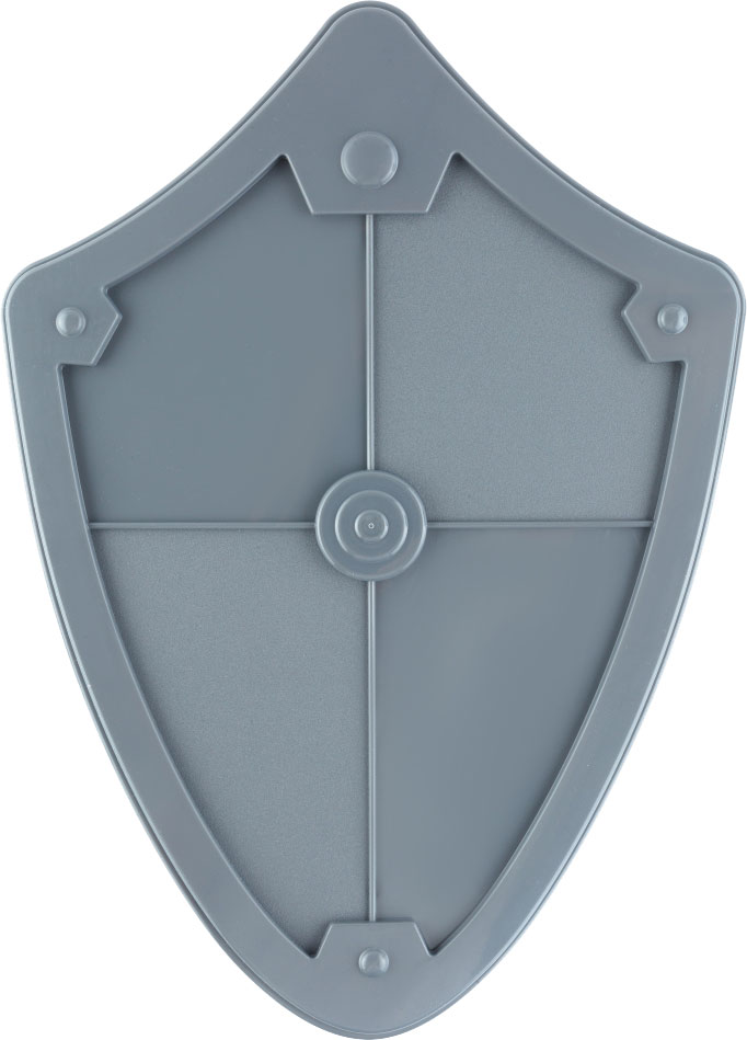 Пластмастер Игрушечное оружие Щит цвет серый