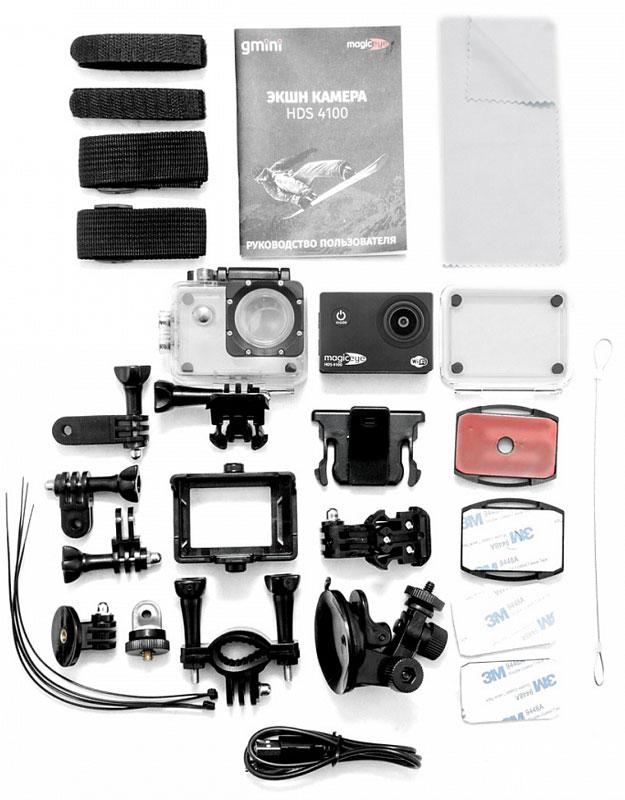 Gmini MagicEye HDS4100, Blackэкшн-камера Gmini