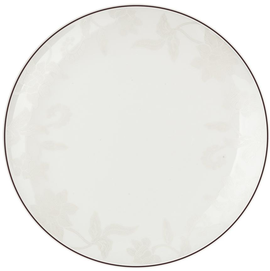 Тарелка плоская Royal Aurel Белый лотос, диаметр 25 см609/1Фарфор Royal Aurel отличается исключительной белизной, что объясняется уникальными компонентами и традиционной технологией, по которой он был изготовлен. Белая глина из провинции Фуцзянь и традиционные рецепты китайских мастеров создают неповторимую композицию. Дизайн коллекций выполнен в соответствии с актуальными европейскими тенденциями.