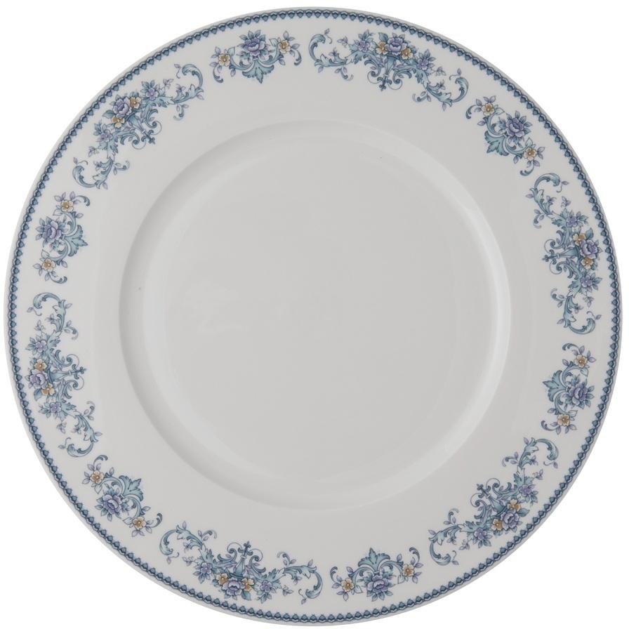 Тарелка плоская Royal Aurel Саксония, диаметр 25 см641/1Фарфор Royal Aurel отличается исключительной белизной, что объясняется уникальными компонентами и традиционной технологией, по которой он был изготовлен. Белая глина из провинции Фуцзянь и традиционные рецепты китайских мастеров создают неповторимую композицию. Дизайн коллекций выполнен в соответствии с актуальными европейскими тенденциями.