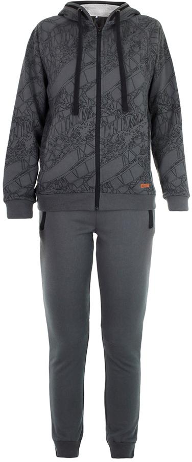 Спортивный костюм для мальчика Oldos Матис, цвет: темно-серый. 5O8SU07. Размер 158, 12 лет5O8SU07Стильный спортивный костюм для мальчика. Футер плотностью 360 г., 60% хлопок, 40% полиэстер. Крой толстовки классический и имеет все необходимое для комфортной носки: капюшон со шнурком-утяжкой, карманы на молнии, манжеты и низ из трикотажного полотна. В брюках: пояс из трикотажного полотна с внутренней резинкой, дополнительная утяжка пояса шнурком, трикотажные манжеты по низу брючин. Костюм подходит как для повседневной носки, так и для занятия спортом.