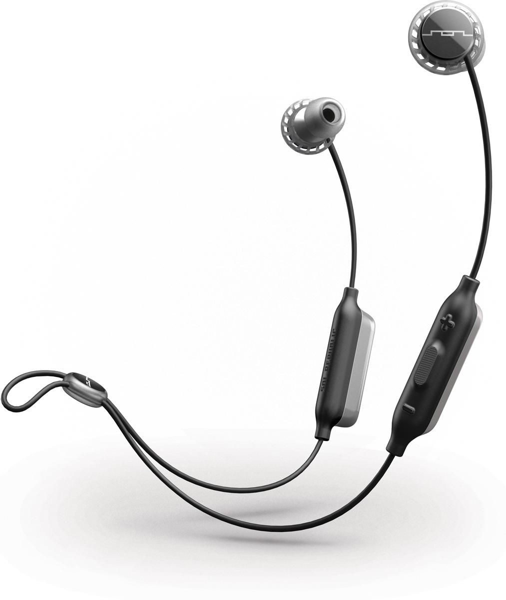 Sol Republic SOL-EP1170GY Relay Sport Wireless, Grey наушникиSOL-EP1170GY;SOL-EP1170GYBluetooth наушники Sol Republic Relays Sport Wireless будут радовать вас не только во время тренировок, но и на ежедневных прогулках. Наушники прочно сидят в ушах благодаря технологии FreeFlex, при этом обеспечивая пассивную шумоизоляцию.Автономная работа при полностью заряженном аккумуляторе позволит вам до 8 ч непрерывно наслаждаться вашими любимыми композициями. Благодаря режиму быстрой зарядки, у вас есть возможность подзарядить за 10 минут наушники ( к примеру на пути на тренировку), добавив ко времени прослушивания один час. В наушниках предусмотрены 2 режима прослушивания: на улице и в помещении. Встроенный микрофон и удобное управление позволяют регулировать громкость, переключать музыку и отвечать на звонки, не отвлекаясь от выполнения упражнений. Высокая степень защиты класса IPX4 будет служить защитой вашим наушникам от воздействия пота и влаги.