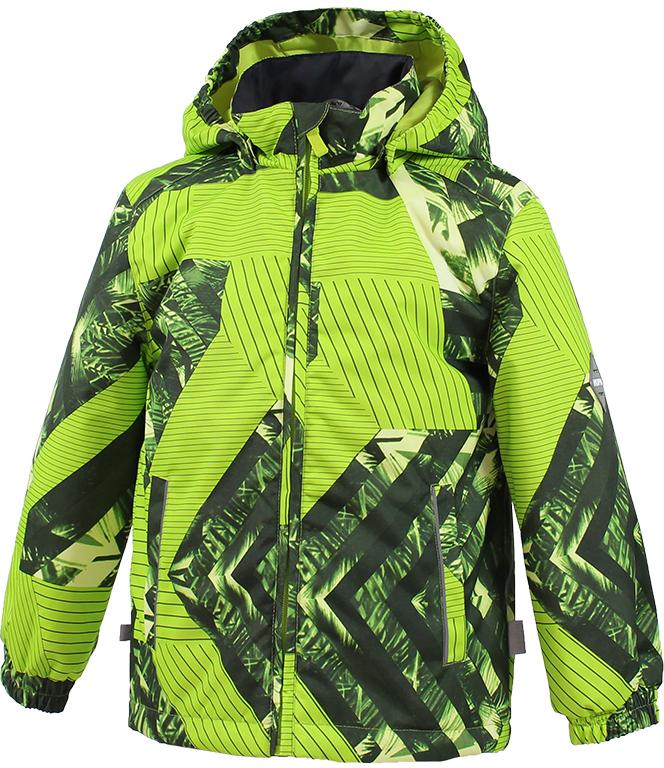 Куртка детская Huppa Jody, цвет: лайм. 17000004-82347. Размер 152 куртка детская huppa jody цвет темно синий 17000004 82386 размер 152