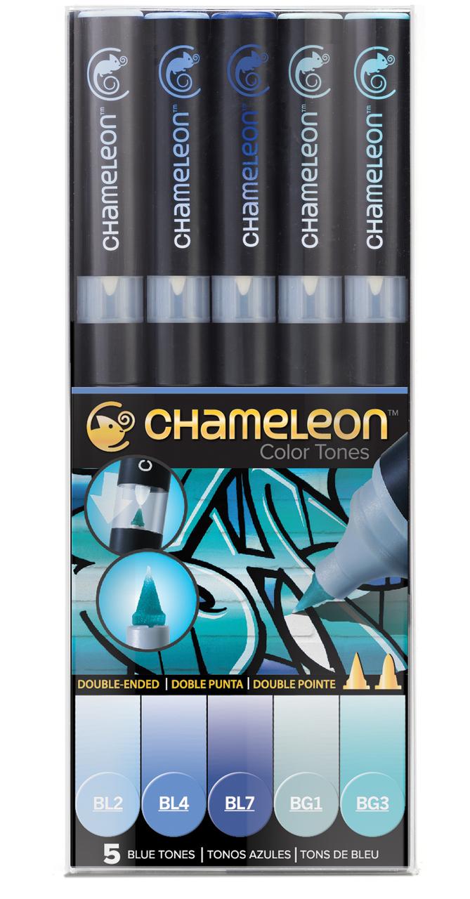 Chameleon Набор маркеров Blue Tones 5 шт -  Маркеры