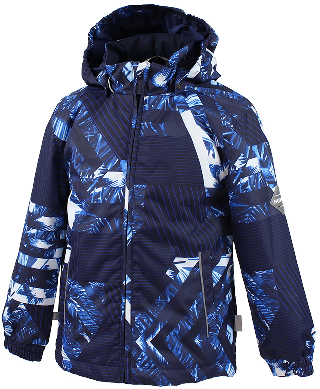 Куртка детская Huppa Jody, цвет: темно-синий. 17000004-82386. Размер 152 куртка детская huppa jody цвет темно синий 17000004 82386 размер 152