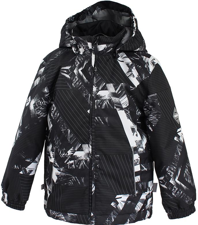 Куртка детская Huppa Jody, цвет: черный. 17000004-82309. Размер 152 куртки huppa куртка jody