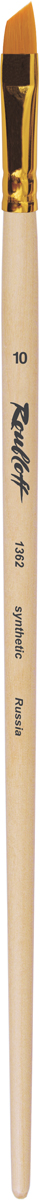 Roubloff Кисть 1362 синтетика скошенная № 7 длинная ручка кисть для китайской росписи из синтетического волоса скошенная