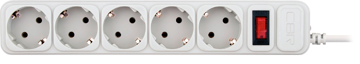 CBR CSF 2500-3.0 PC, White сетевой фильтр