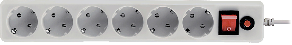 CBR CSF 2600-1.8 CB, White сетевой фильтр